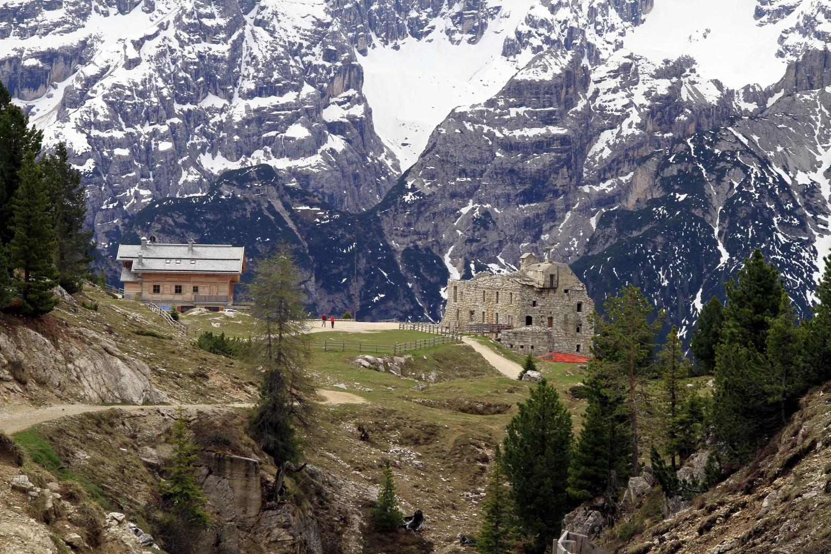 Dürrensteinhütte, Pragser Dolomiten