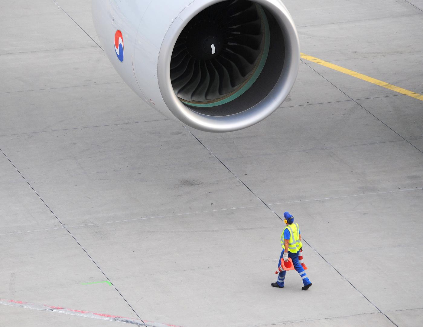 Düse eines Airbus A380-800