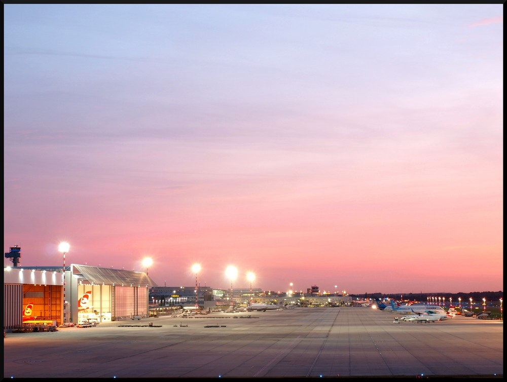 *Düsseldorf Airport*