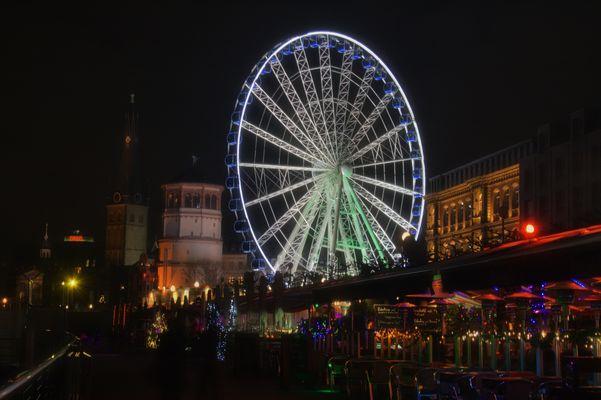 Düsseldorf Altstadt Riesenrad