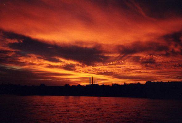 Düsseldorf am Morgen