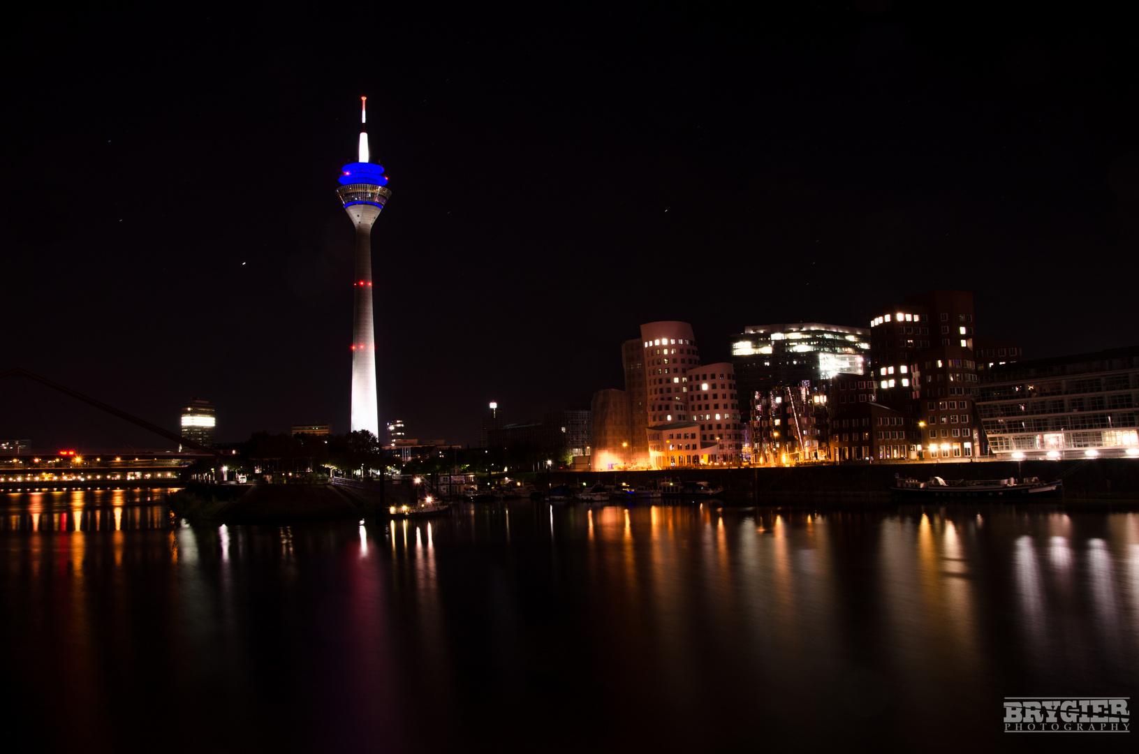 Düsseldorf bei Nacht!