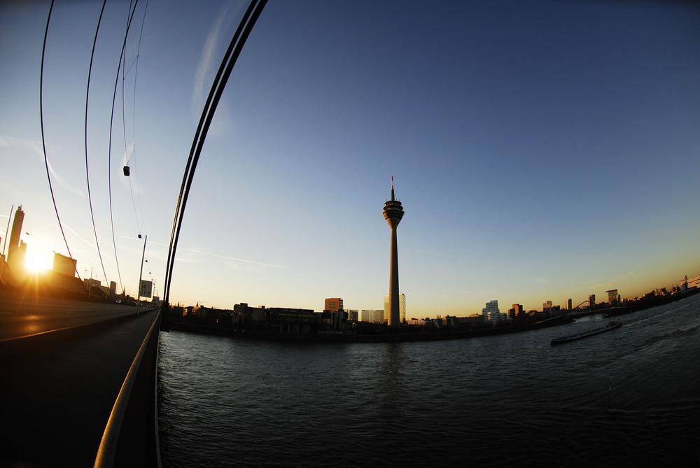 Düsseldorf fisheye