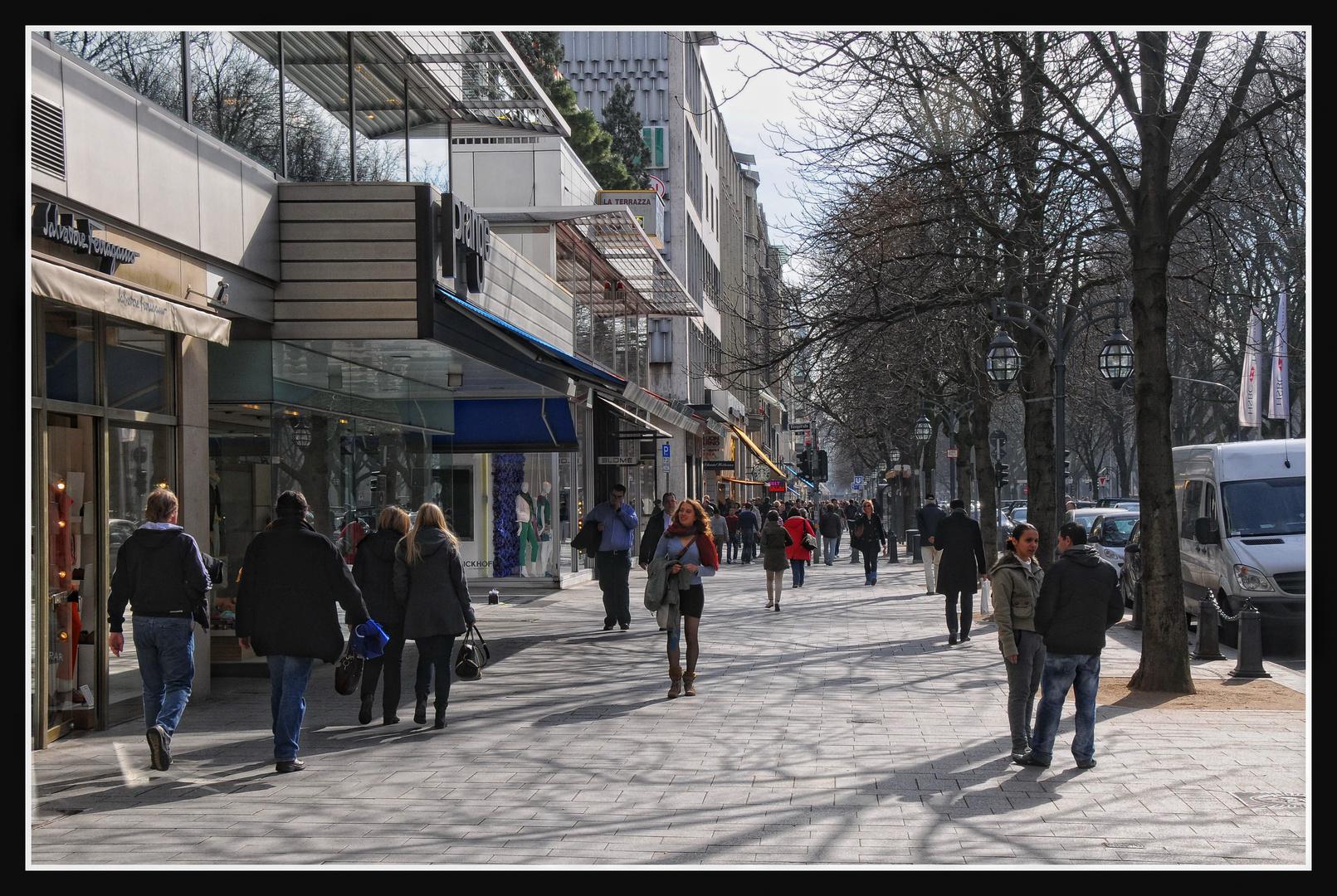 Düsseldorf - Frühling auf der Kö