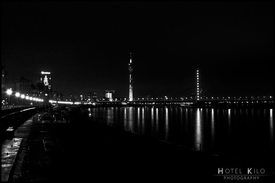 Düsseldorf im kleinen Schwarzen