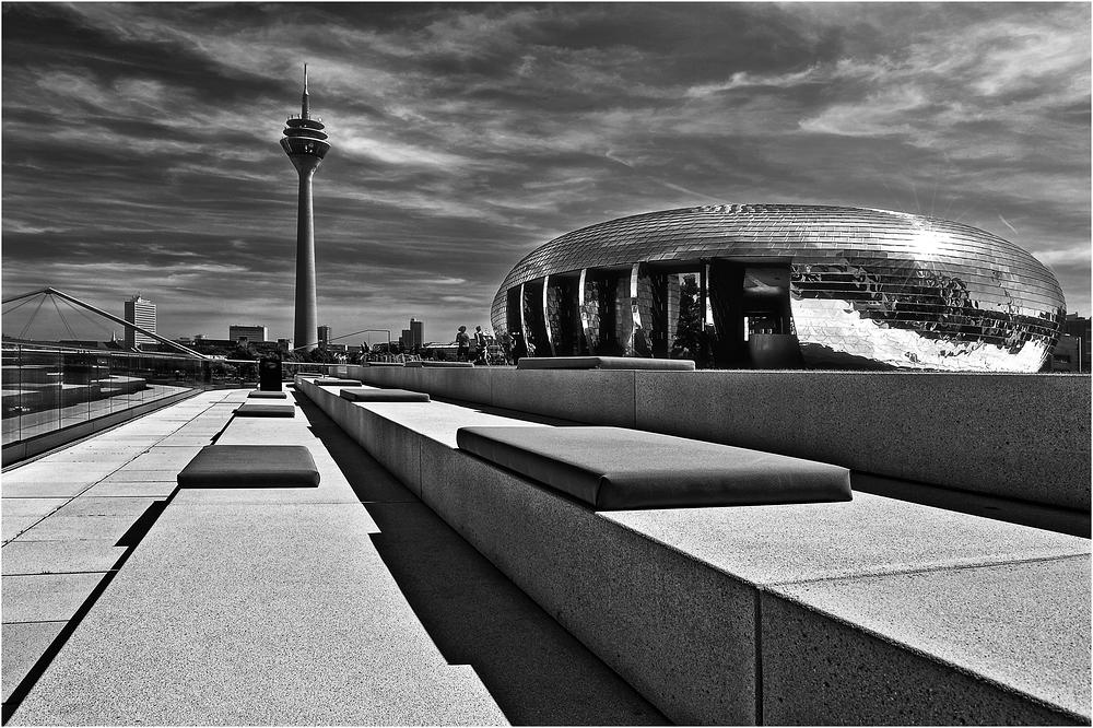 Düsseldorf in s/w