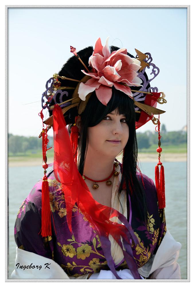 Düsseldorf - Japan-Fest 2014 - Schönheit im Japanlook