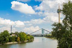 Düsseldorf Medienhafen Brücken