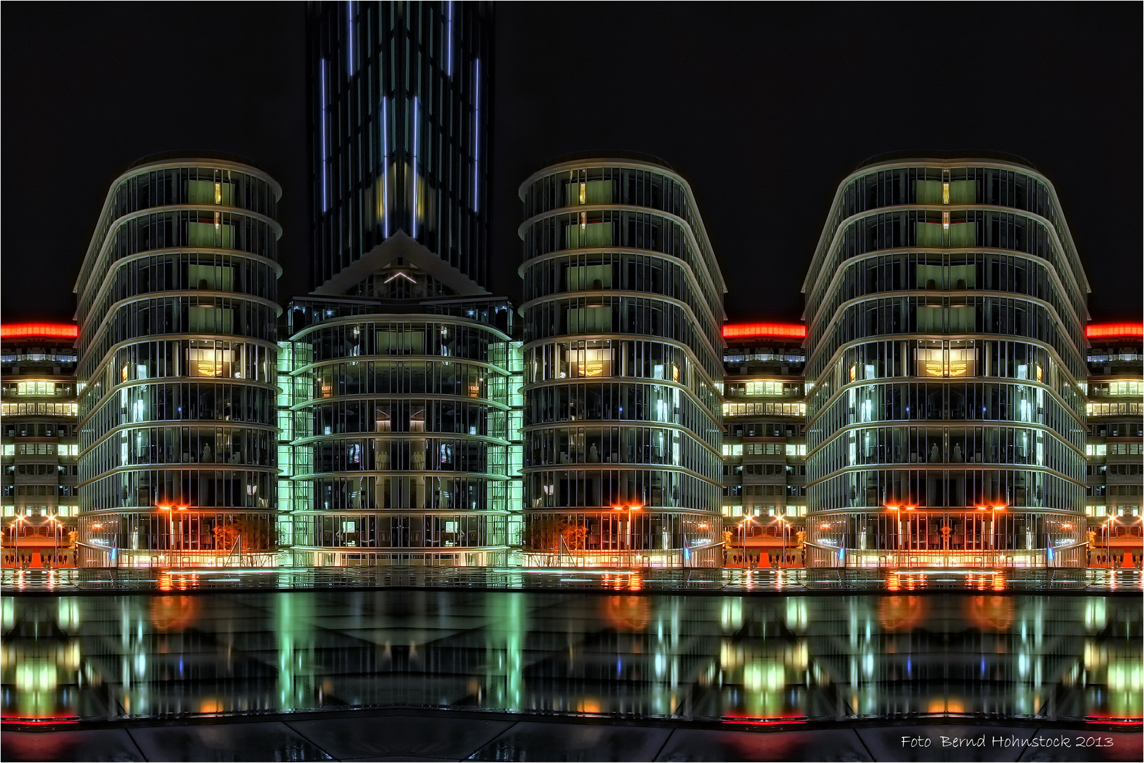 Düsseldorf ..... Medienhafen einmal anders