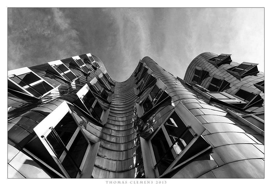 Düsseldorf - Medienhafen Gehry -2-