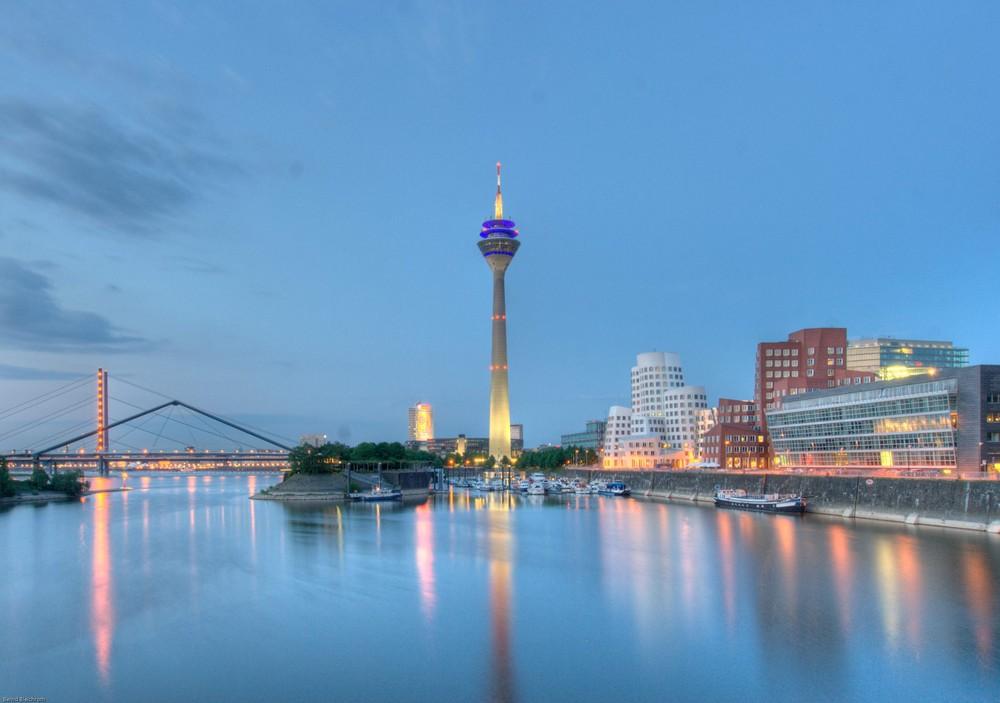 Düsseldorf Medienhafen HDR 1