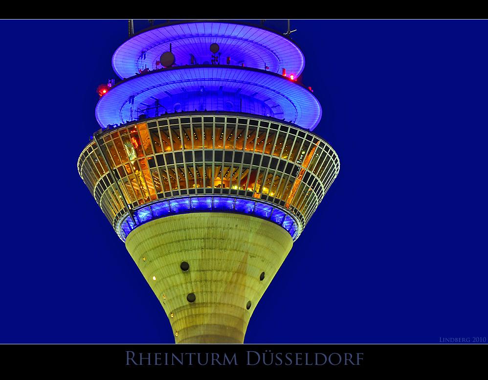 Düsseldorf, Restaurant im Rheinturm