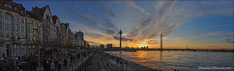 Düsseldorf Rheinufer