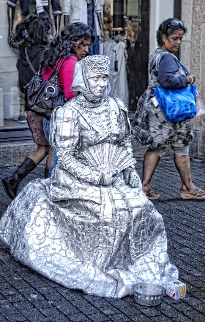 Düsseldorf: street act