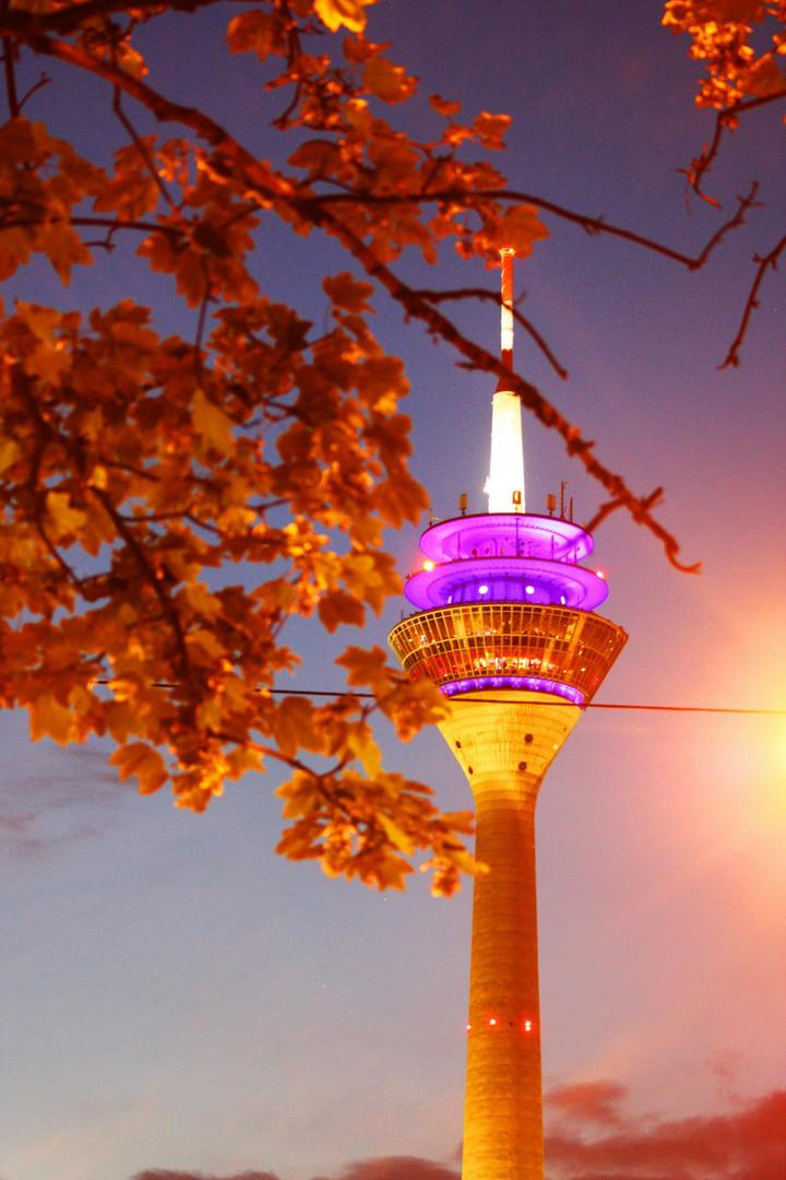Düsseldorfer Rheinturm