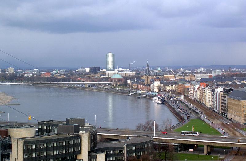 Düsseldorfer Rheinufer