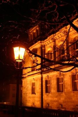 . . . düster in Dresden. . .