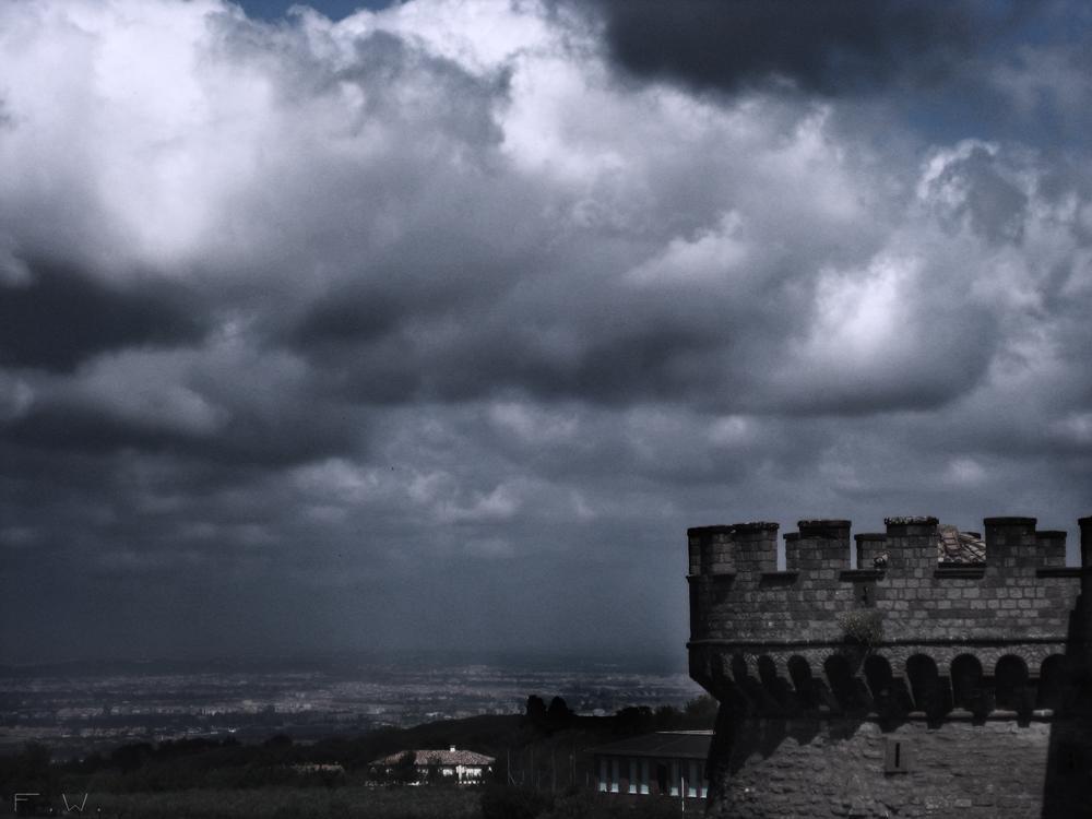 Düstere Burg