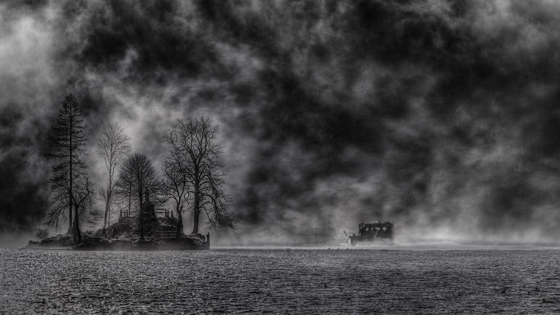 Düstere Impression vom Königssee