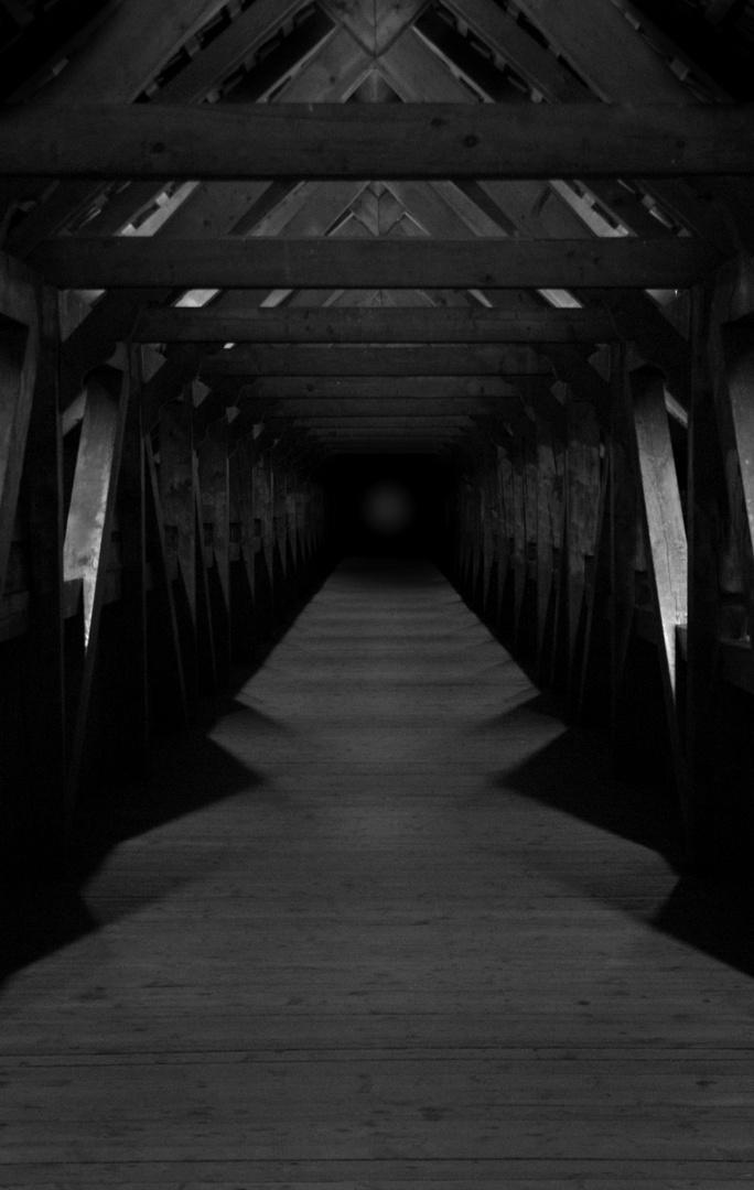 düstere Kapellbrücke