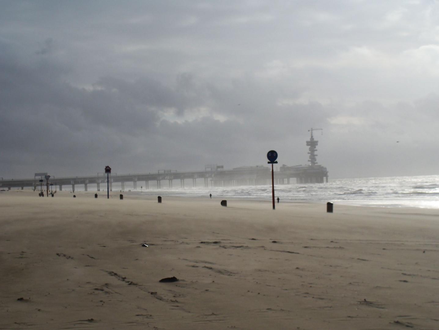 düstere Nordsee