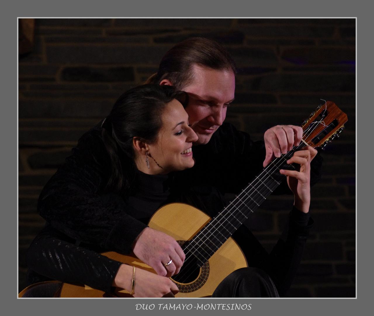 Duett für eine Gitarre