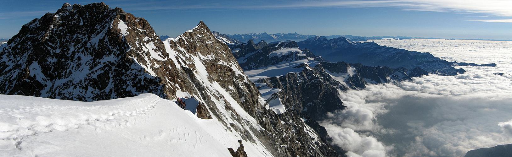 Dufourspitze und Nordend