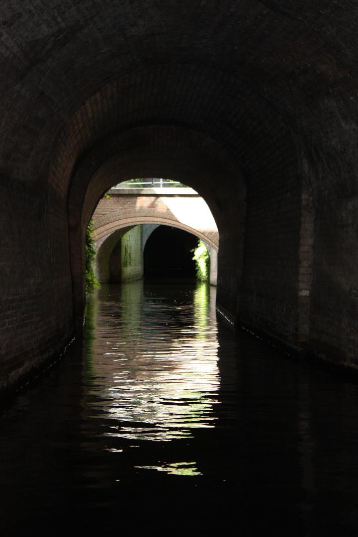 duikvaart in de dieze in Den Bosch