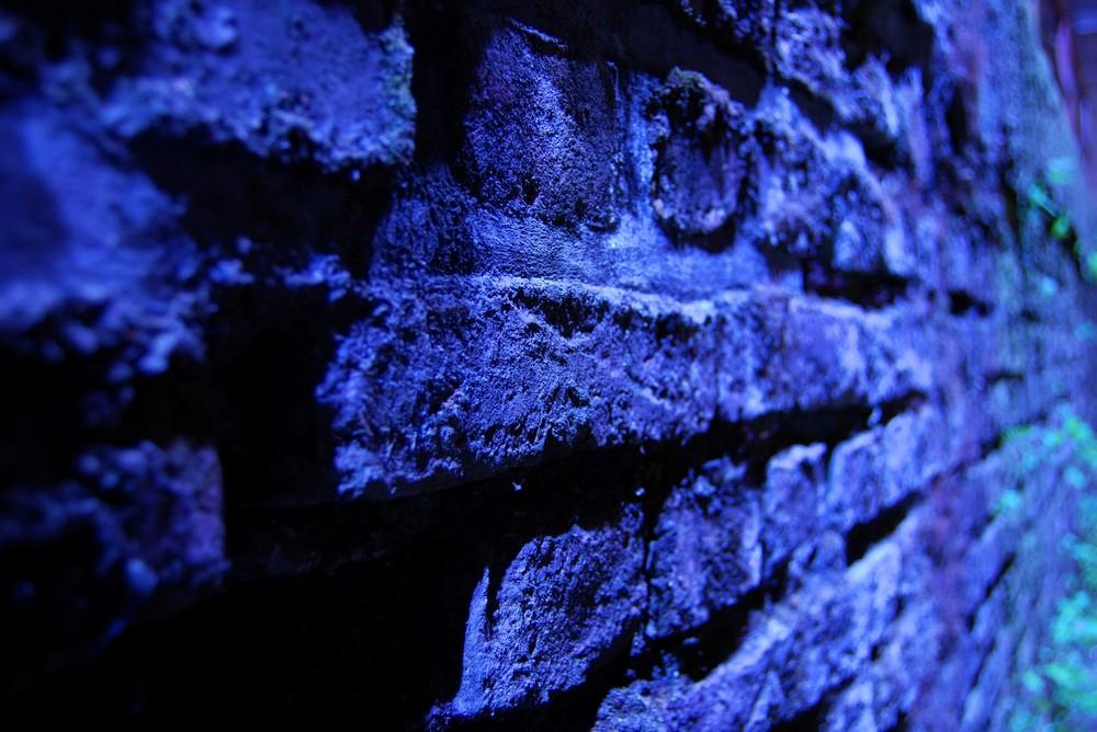 Duisbug bei Nacht - LAPADU - Stein auf Stein