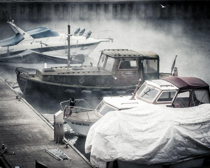 """Duisburg - Hafenimpression - """"vergessenes Schiff"""""""