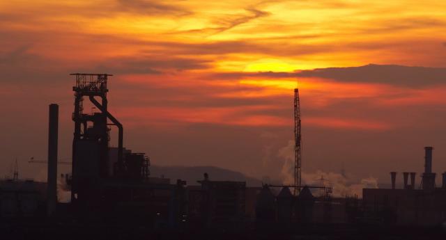 Duisburg in der Abendsonne