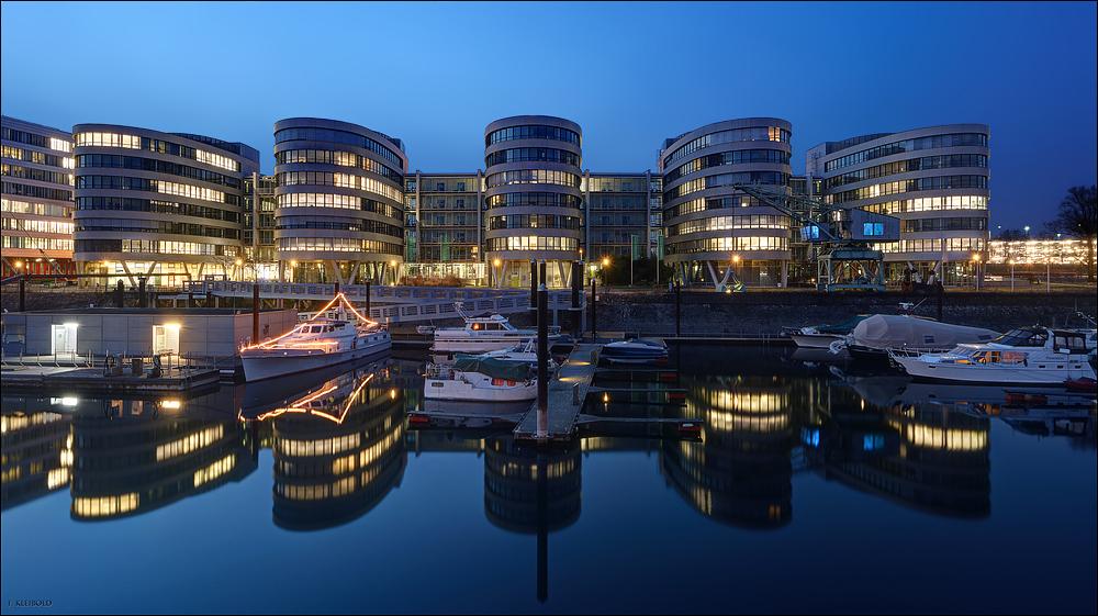 Duisburg Innenhafen - Five Boats