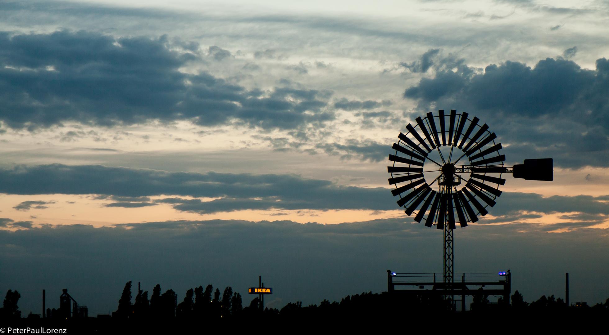 Duisburg. Landschaftspark Duisburg-Nord