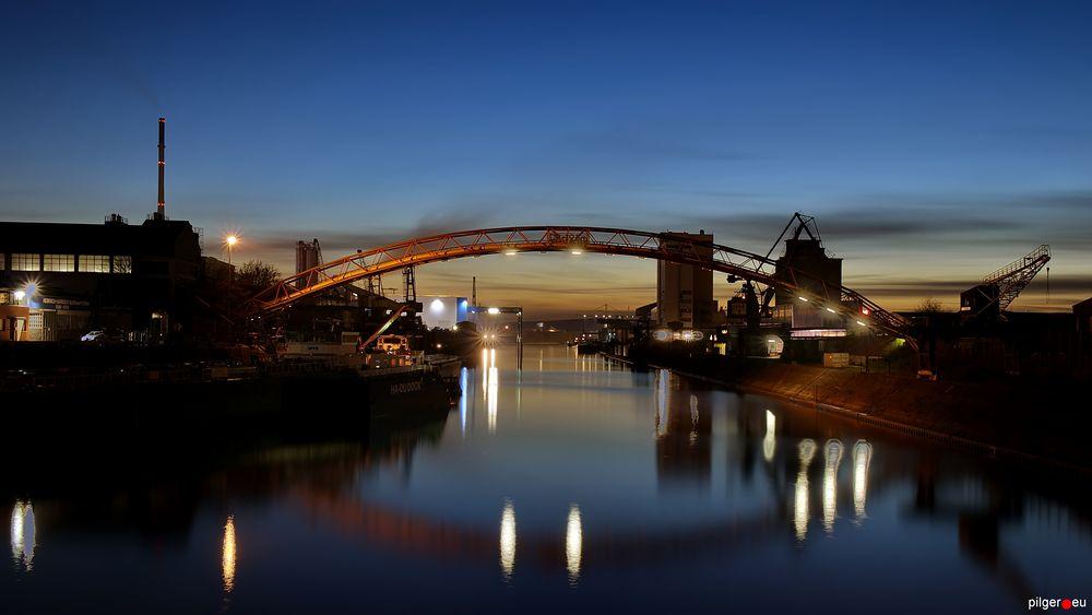 Duisburger Hafen - eine Stunde später