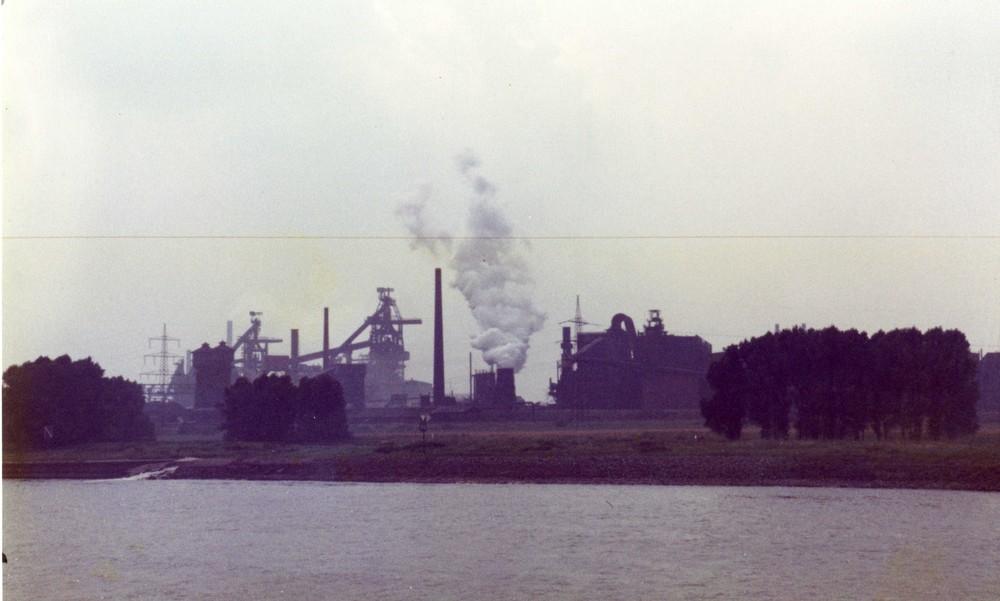 Duisburger Hafenrundfahrt 1984