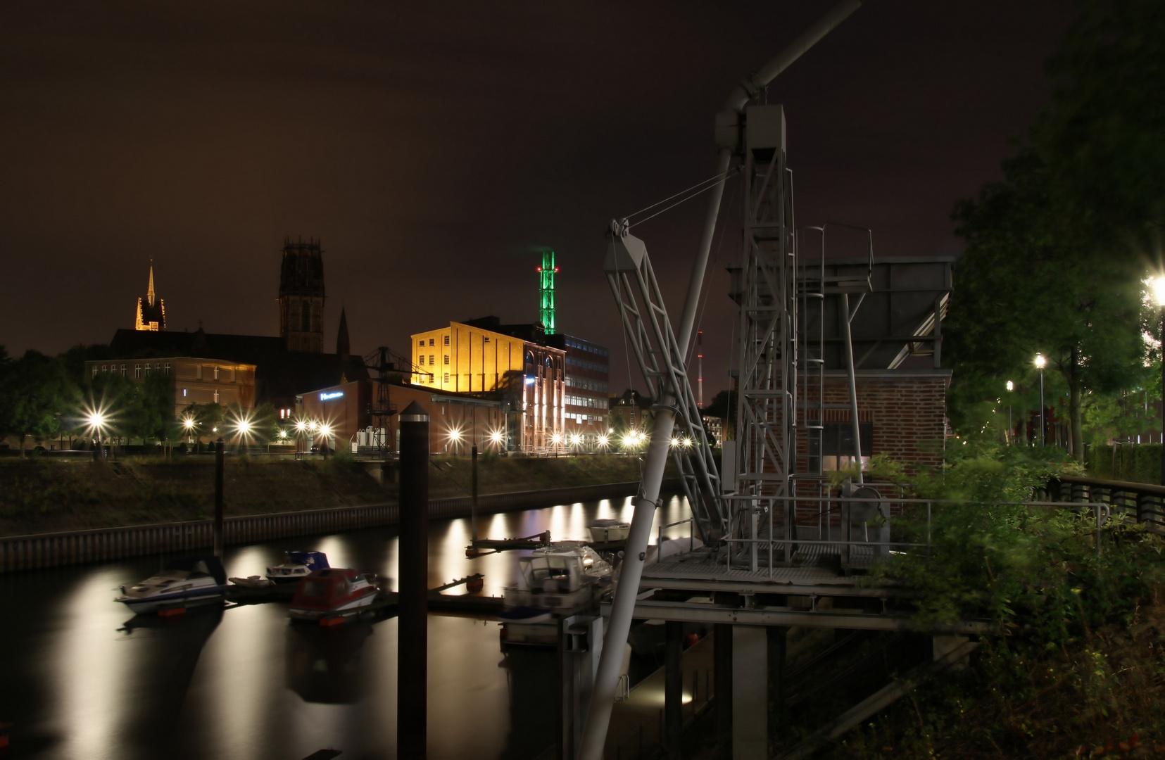Duisburger Innenhafen (Richtung Nordseite)