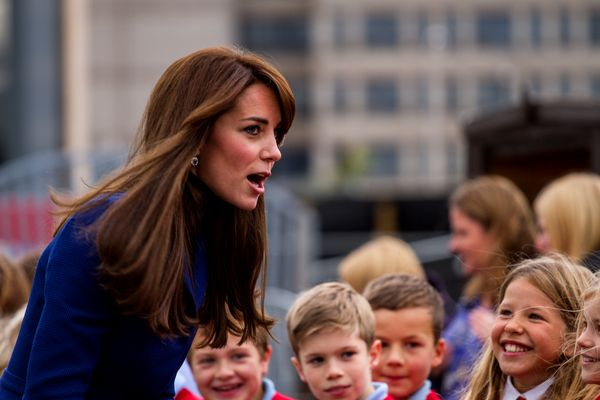 Duke and Duchess of Cambridge Prince William and Kate Middleton visit Dundee