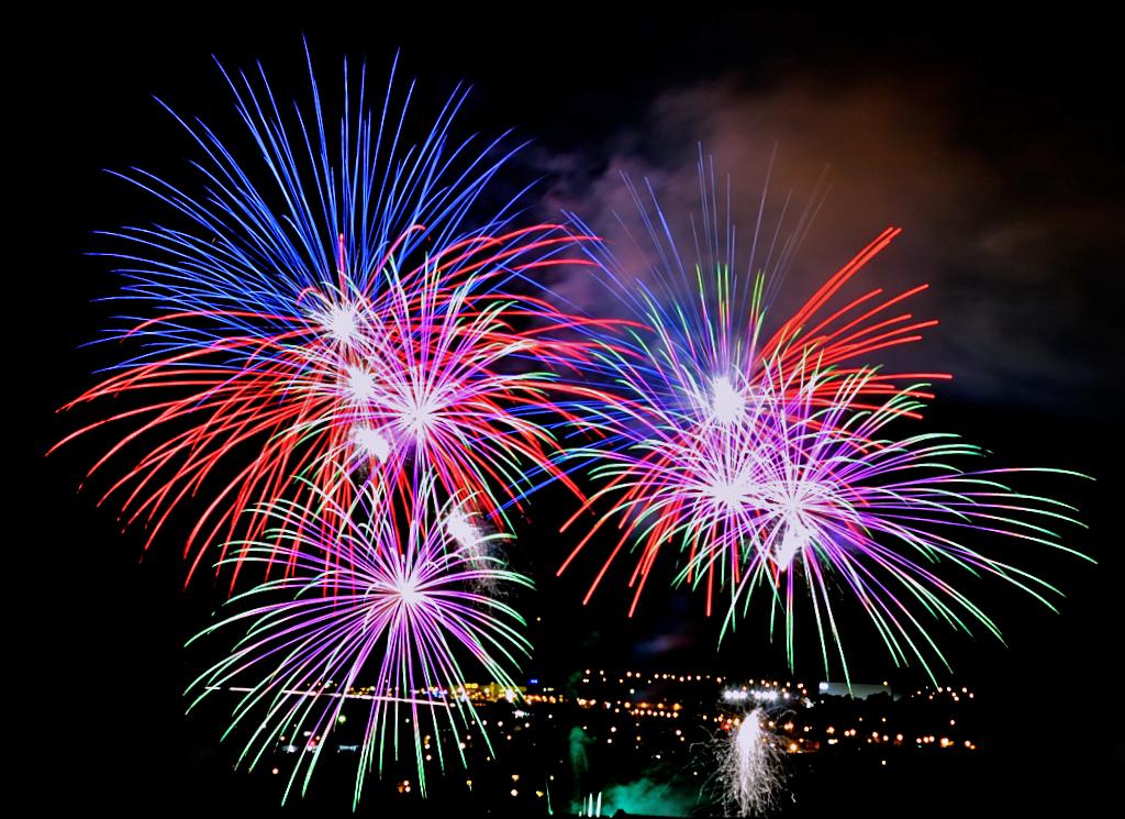 Dult Landshut Feuerwerk #02