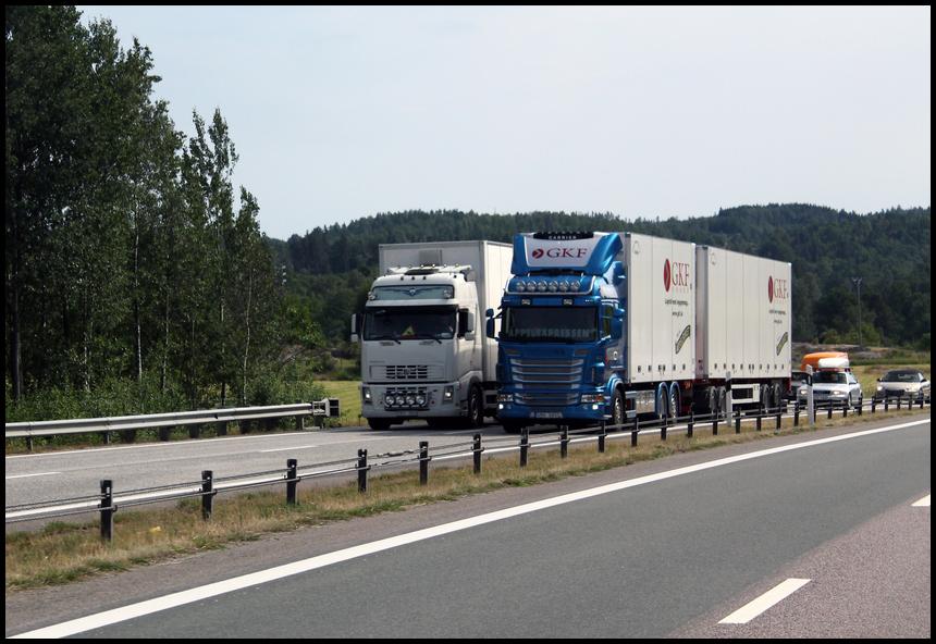 Dumbo Rennen in Schweden