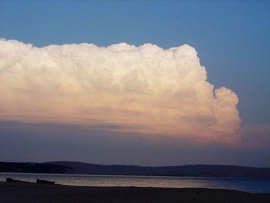 Dune du Pilat vue du Cap Ferret