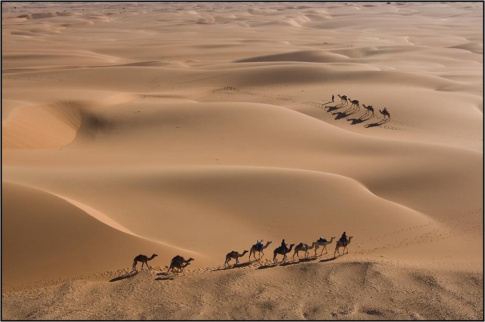 Dunes et caravanes