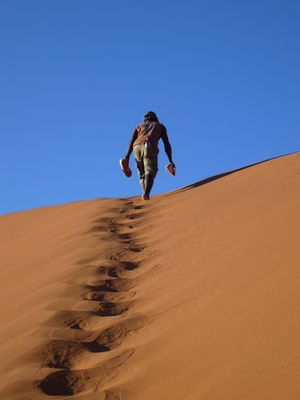 Dunes Namibiennes.