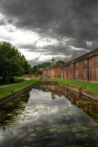 Dunham Massey Park and House nr. Manchester Airport (HDR)