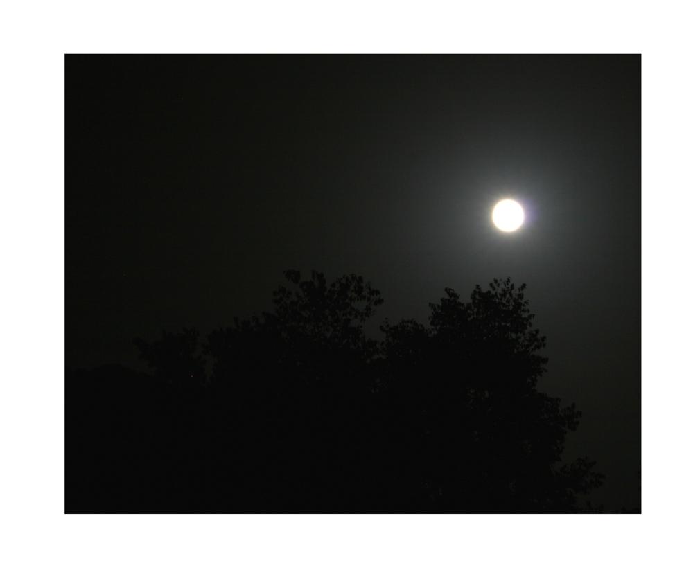 Dunkel war`s, der Mond schien helle...