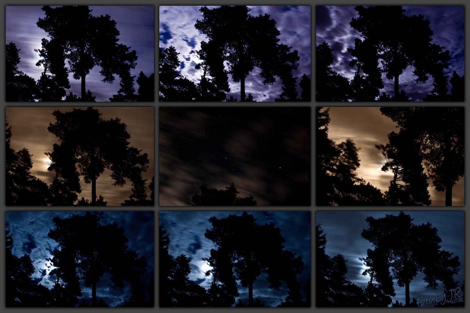 Dunkel wars, der Mond schien helle...
