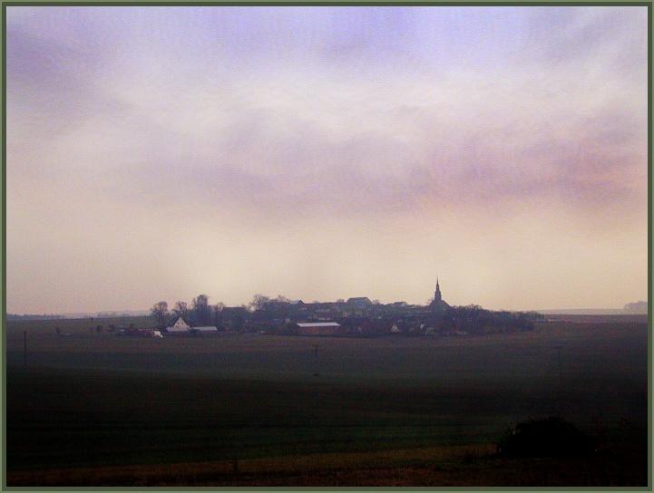 Dunkle Jahreszeit in Thürigen.
