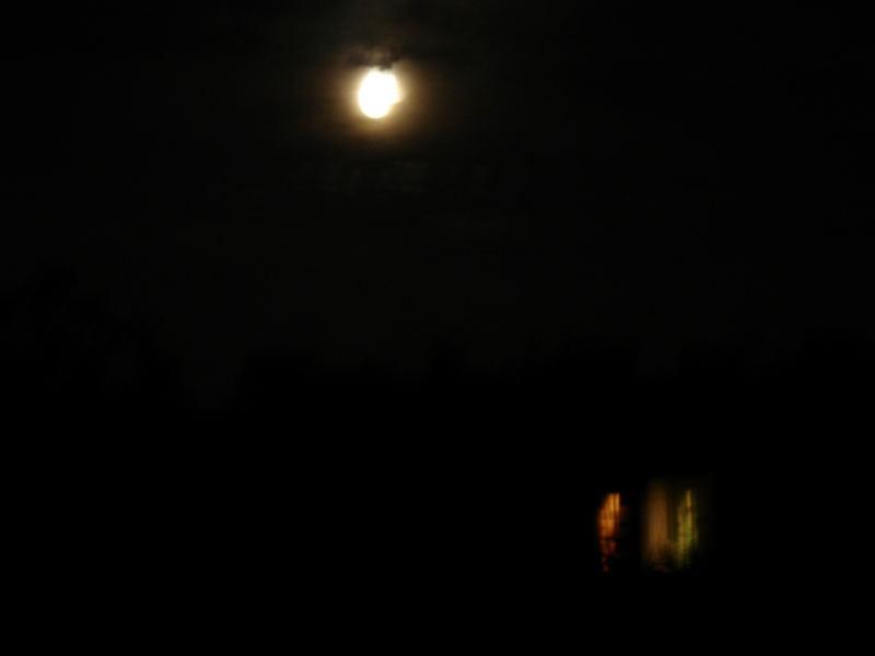 Dunkle Nachtstille