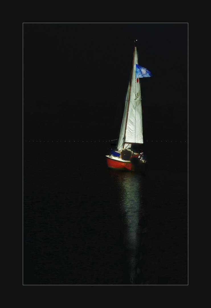 dunkle Wasser