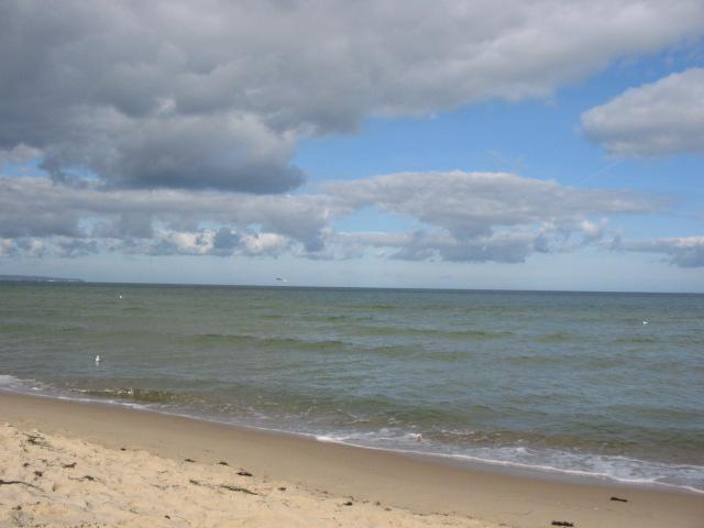 Dunkle Wolken auf Rügen