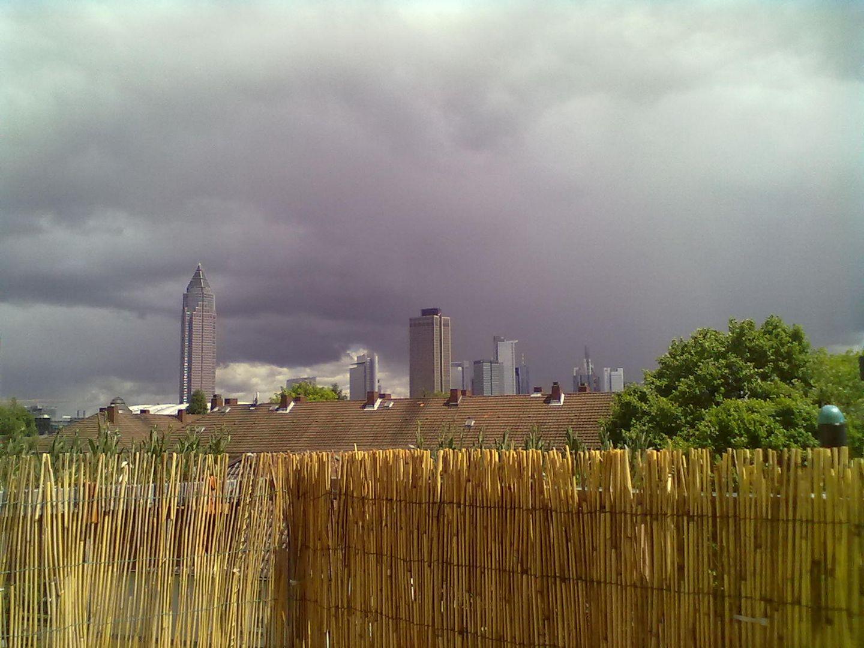dunkle Wolken über der Bankenwelt von Frankfurt